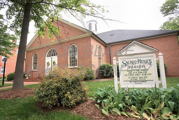 Sacred Heart Church, Chestertown, Maryland, Sunday. May 6, 2012. photo/ www.DonBlakePhotography.com