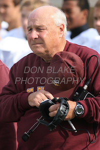St. Elizabeth Football Coach Joe Hemphill during his final game November 9, 2013 at Archmere Acadmey. photo/wwwDonBlakePhotography.com