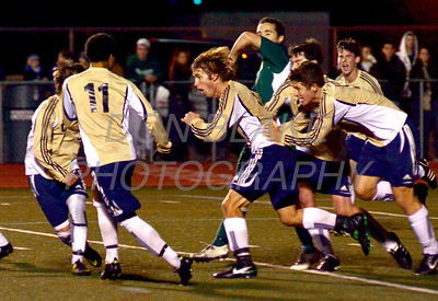 Salesianum celebrates after scoring a goal during the Boys State Soccer Championship at Caravel Academy, Saturday, November 19, 2011. The Dialog/Don Blake