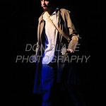Jake Collins who plays Jean Valjean performs during Salesianum Theater production of Les Miserables, Friday, March 2, 2018. wwwDonBlakePhotography.