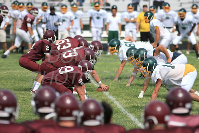 St. Mark's hosted Concord in their first scrimmage in preparation for the start of the high school football season. The Dialog/Don Blake