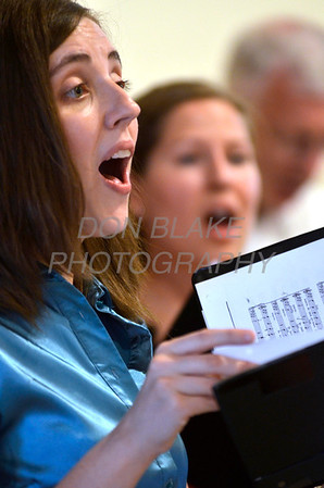 The choir from St. St. Hedwig Parish sings during Diocesan Marian Pilgrimage at the Shrine of Our Lady of Peace at Holy Spirit Church, Saturday, September 22, 2012. photo/www.DonBlakePhotography.com