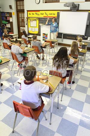 Karen Hnatowski's 3rd grade class at St. Elizabeth Elementary School. wwwDonBlakePhotography.com
