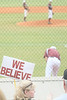 Pearland fan Tammy Guest showing support for her team against Channelview.