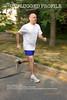 Walter St. Onge jogging