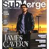 Portrait of singer, James Cavern taken for Submerge Magazine.