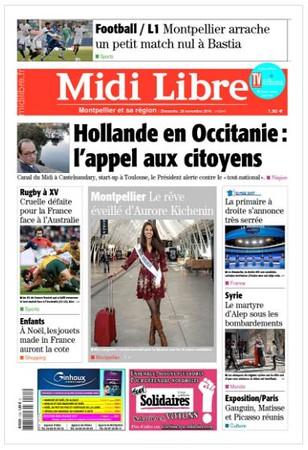 Editorial - Presse Midi-Libre -
