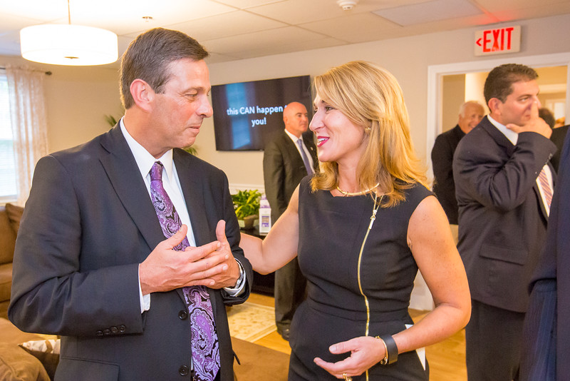 Meagan's House Opening (Tim Grover, Founder & Lt. Governor Karyn Polito - MA)