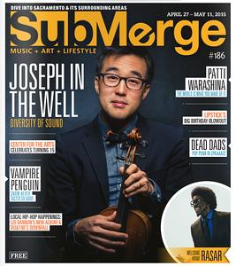 Joe Kye - Submerge Magazine Cover