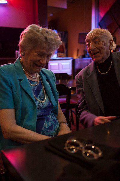 09 June 2014- Dave and Arlene Beber are photographed at Ozone Lounge for 60+ Magazine.