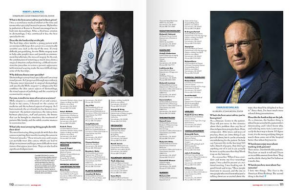 Portraits of Doctors - Sacramento Magazine  www.sacmag.com