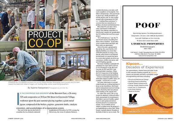 "Habitat Magazine, February 2014, ""Project Co-op"" Feature"