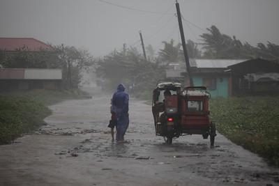 Super Typhoon Megi strikes Philippines.