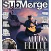 Portrait of guitarist, Adrian Bellue taken for Submerge Magazine.