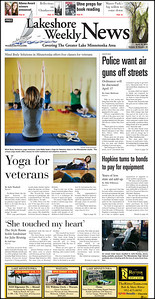 Lakeshore Weekly News, Page 1A, Tuesday, April 10, 2012.