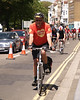 Brighton end of the charity cycle ride