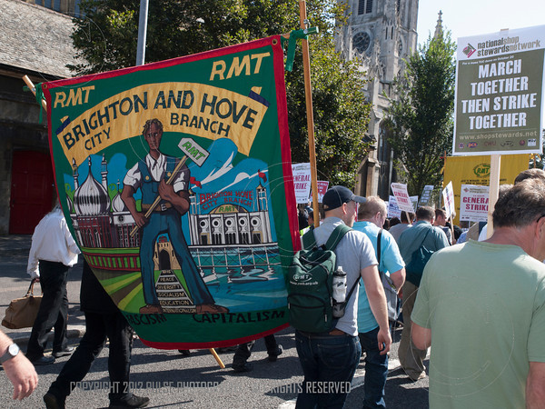 National Shop Stewards rally and march