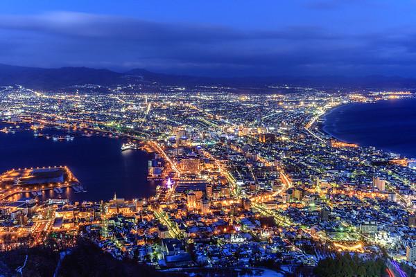 A Million Diamonds, Hakodate, Japan