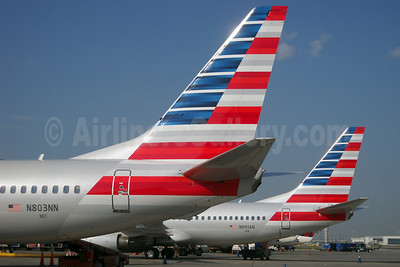 American Airlines Boeing 737-823 WL N803NN (msn 29566) + N991AN (TMK Photography). Image: 912396.
