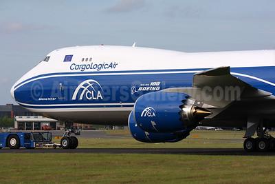 """1916 - 2016 100 Boeing"" emblem for Farnborough 2016"