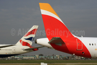 British Airways - Iberia Tails (International Airlines Group) LHR (SPA). Image: 926919.