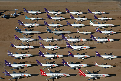 FedEx Express storage at Victorville (VCV), CA (Rainer Bexten). Image: 936412.