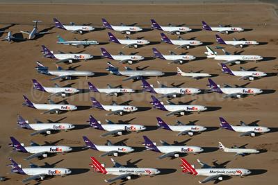 FedEx Express storage at Victorville (VCV), CA (Rainer Bexten). Image: 936412.