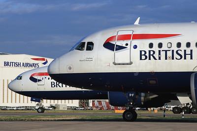 British Airways at London Heathrow (LHR) (SPA). Image: 940461.