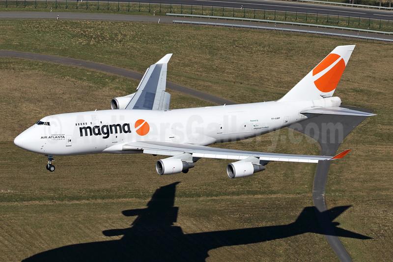 Magma Aviation - Air Atlanta Icelandic Boeing 747-481 (F) TF-AMP (msn 24801) HHN (Rainer Bexten). Image: 943157.