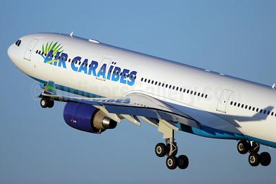 Air Caraibes (2nd) Airbus A330-323X F-WWYL (F-OONE) (msn 965) TLS. Image: 901847.
