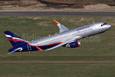 Aeroflot Russian Airlines Airbus A320-214 WL VP-BAD (msn 7240) DUS (Rainer Bexten). Image: 938023.