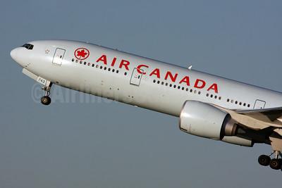 Air Canada Boeing 777-333 ER C-FIVW (msn 42218) LHR (SPA). Image: 931091.