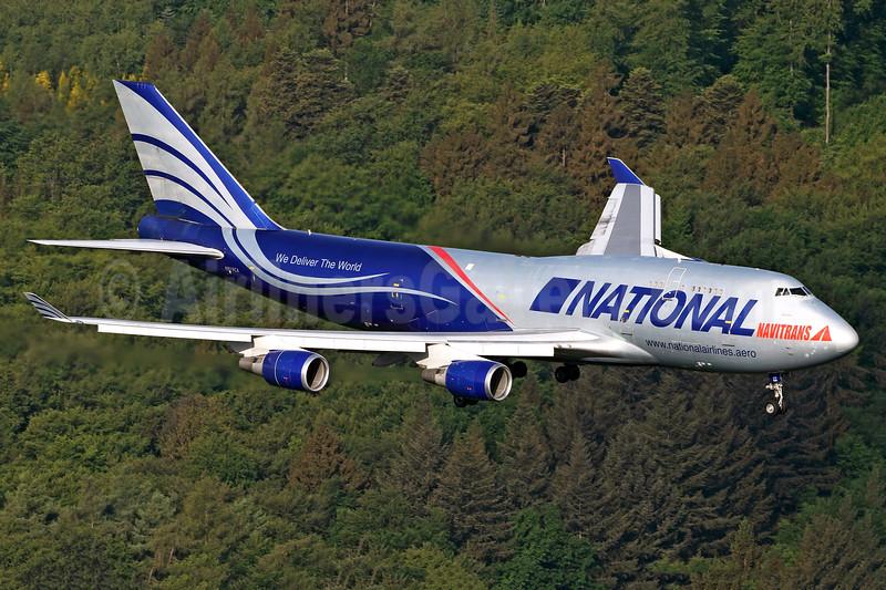 National Airlines (5th) - Navitrans Boeing 747-428 (F) N919CA (msn 25302) HHN (Rainer Bexten). Image: 942847.