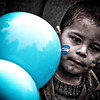 "This little boy was cheering on the Argentine national team during the 2010 World Cup in Buenos Aires, Argentina. <a href=""http://nomadicsamuel.com"">http://nomadicsamuel.com</a>"