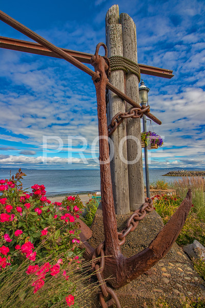 Anchor in Edmonds Washington