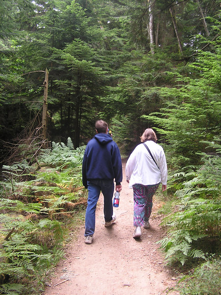Hiking around Mt Constitution on Orcas Island