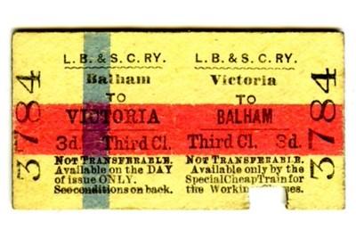 LBSCR return tickets