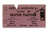 Lynton &amp; Barnstaple Railway third class single ticket from Lynton to SNAPPER PLATFORM issued on July 27th, 1925.<br> [<i>Mike Morant collection</i>]