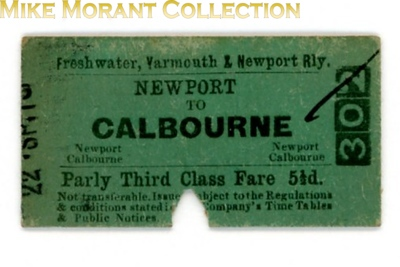 Edmondson card railway tickets