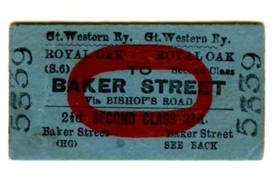 Pre-London Transport tickets