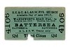 SECR and LSWR 3rd class single ticket from Wandsworth Road (Plat) to Battersea using only LSWR trains issued on 12/9/1910.<br> [<i>Mike Morant collection</i>]
