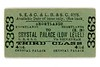 SECR  and LBSCR 3rd class single ticket from Shortlands to Crystal Palace (Low Level) issued on 5/12/1901.<br> [<i>Mike Morant collection</i>]