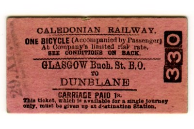 Edmondson_ticket_Caledonian_Railway_single_Bicycle_Glasgow_Buchanan_Street_to_Dunblane_1