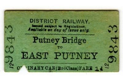 Edmondson_ticket_District_Railway_single_3rd_third_class_Putney_Bridge_to_EAST_PUTNEY_1