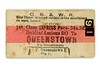 """Great Southern & Western Railway 1st class EXPRESS single ticket from Dublin (Amiens St.) to Queenstown. The word """"COOK"""" probably indicates Thos. Cook the well known travel agant.<br> [<i>Mike Morant collection</i>"""