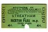 Edmondson_ticket_Southern_Railway_single_3rd_third_class_Streatham_to_Merton_Park_1