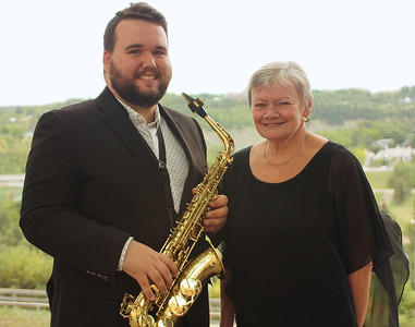 Lucas MacPhail PEI, Woodwinds National Finalist, Accompanist Frances McBurnie, Queens County Music Festival (1)