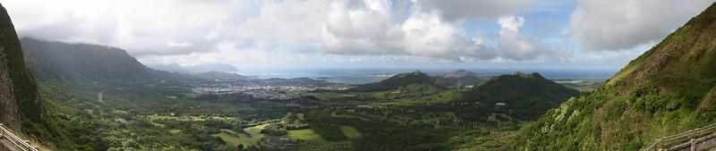 Pali Lookout, Oahu, Hawaii. 2010