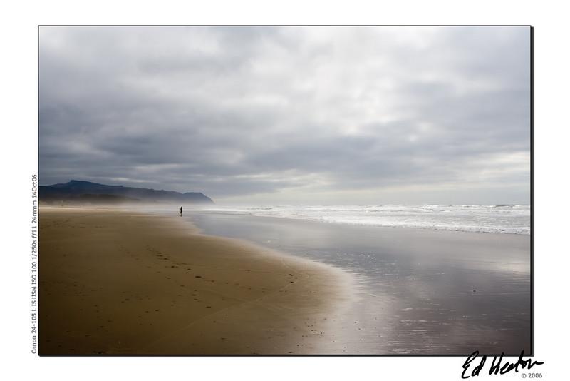 A beach on the Oregon coast (Fall 2006)