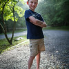 Where does he learn to pose like this? LOL Digital, Trout Pond Recreation Area, West Virginia, Jun 2014.